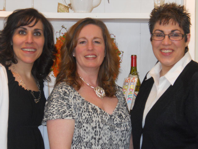 The owners: MaryAnn, Kathleen, and Rosemarie